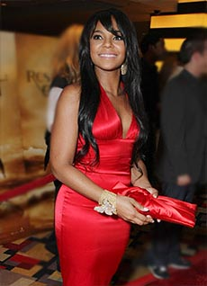 Ashanti lost 8 pounds on the Master Cleanse