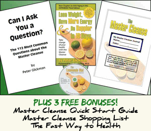 Special Master Cleanse Download Pack