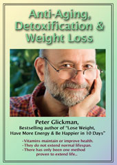 Anti-Aging DVD by Peter Glickman (1 hour)