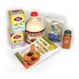 Master Cleanse kit with book